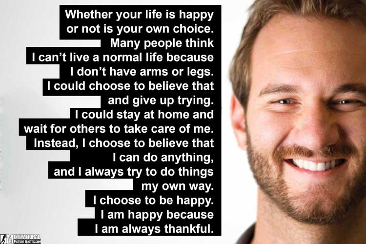 nick vujicic motivational quotes