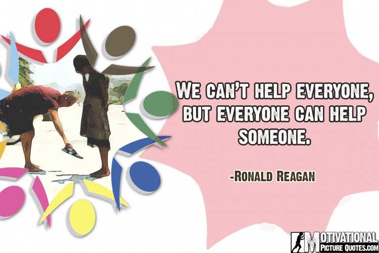 Inspirational Quotes on Humanity by Ronald Reagan