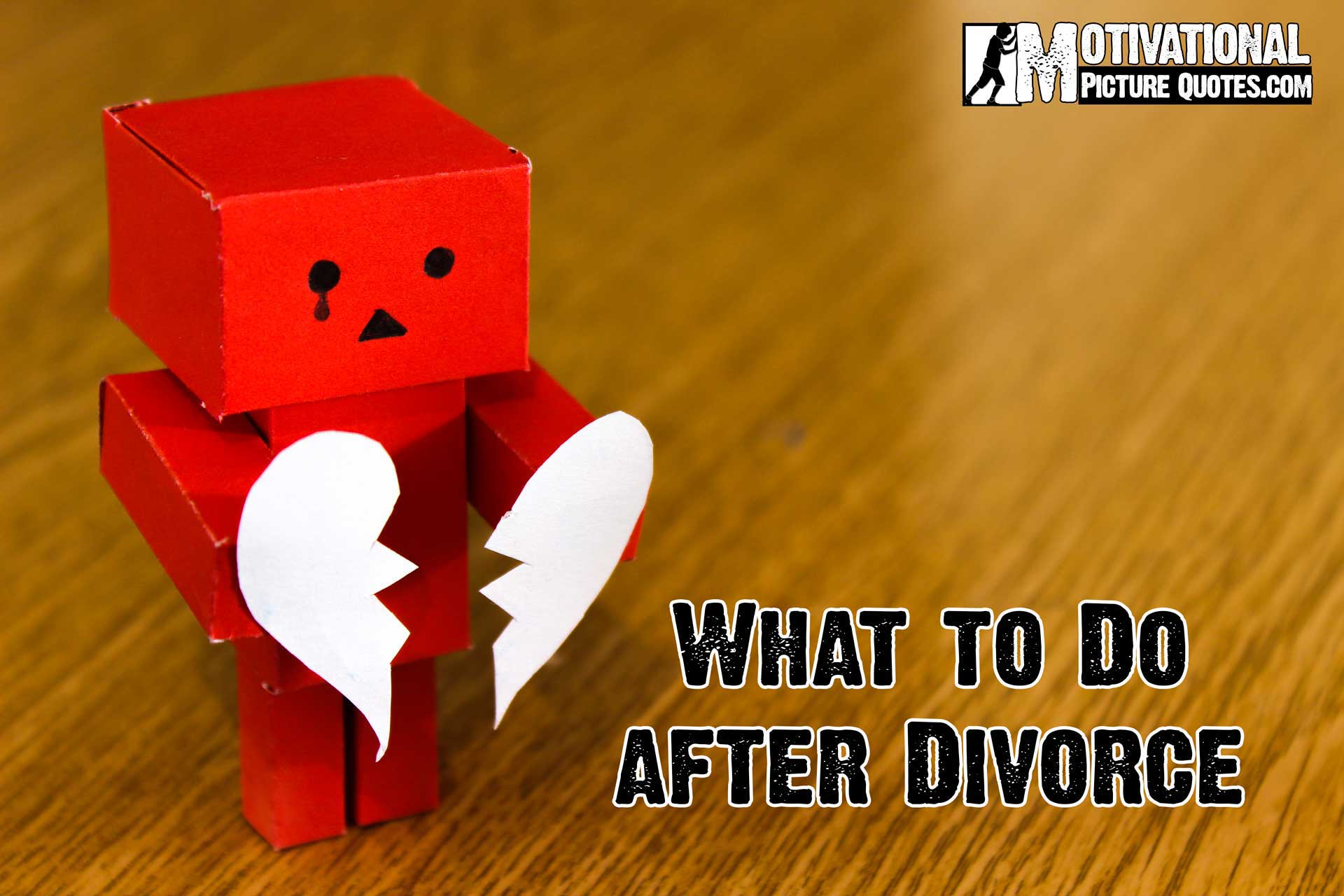 What to Do after Divorce
