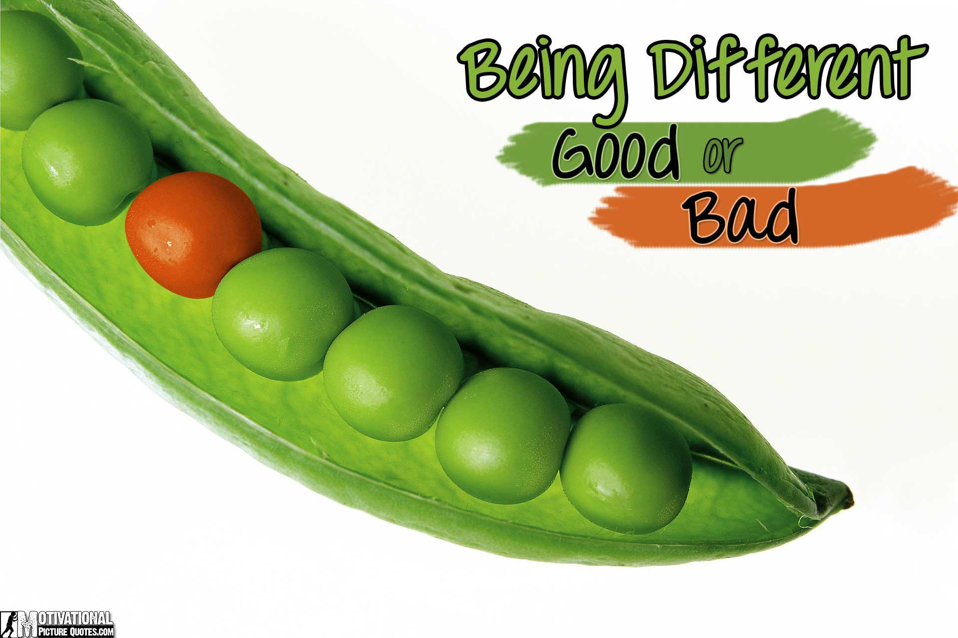 Is Being Different A Good or A Bad Thing?