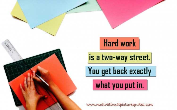 Inspiring Hard Work Quotes