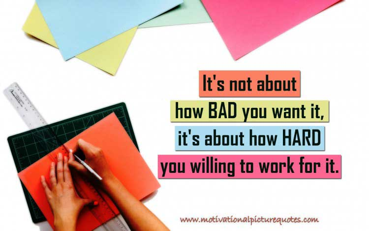 Motivating Hard Work Quotes