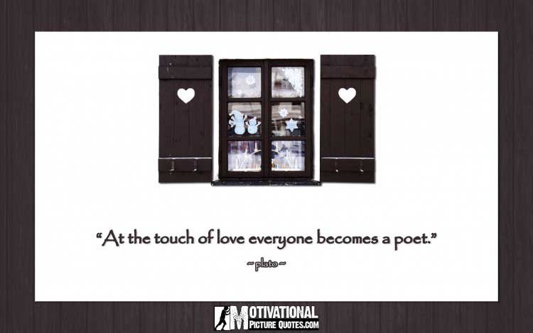 inspirational quotes about love by plato