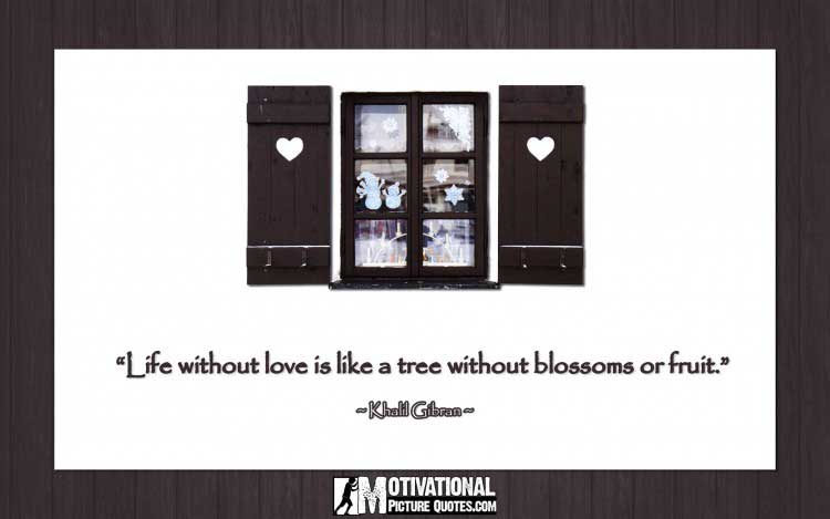 Khalil Gibran quotes on love