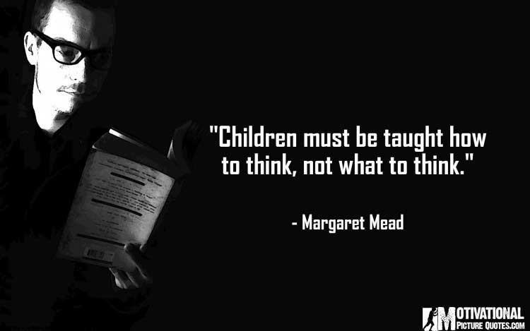 inspirational quotes for teachers by Margaret Mead