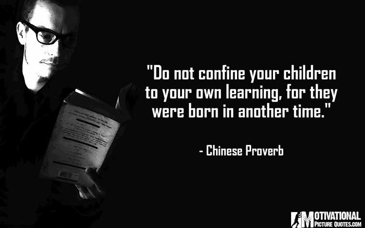 Chinese Proverb on teachers