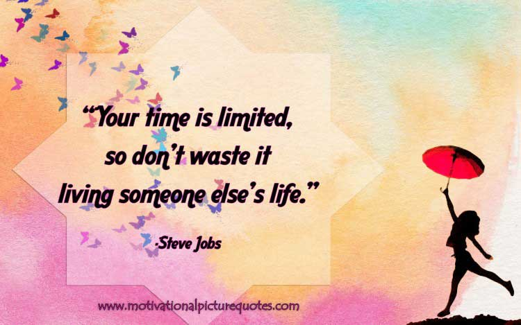 Motivational Quotes About Life by Steve Jobs