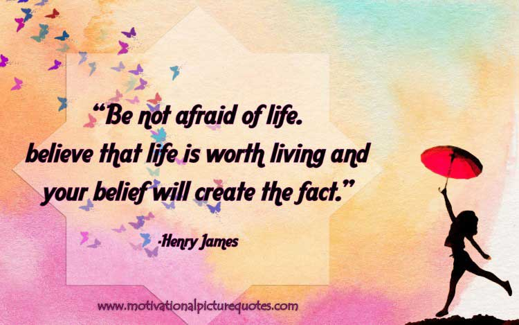 best life quotes images by Henry James