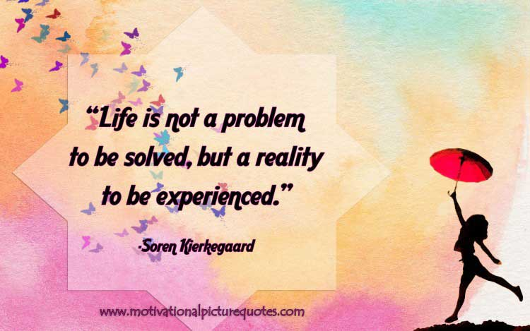 life quotes and sayings by Soren Kierkegaard