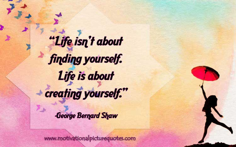 quotation about life by George Bernard Shaw