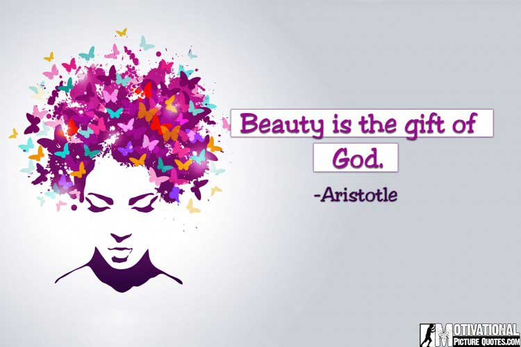inspirational quotes about beauty by Aristotle
