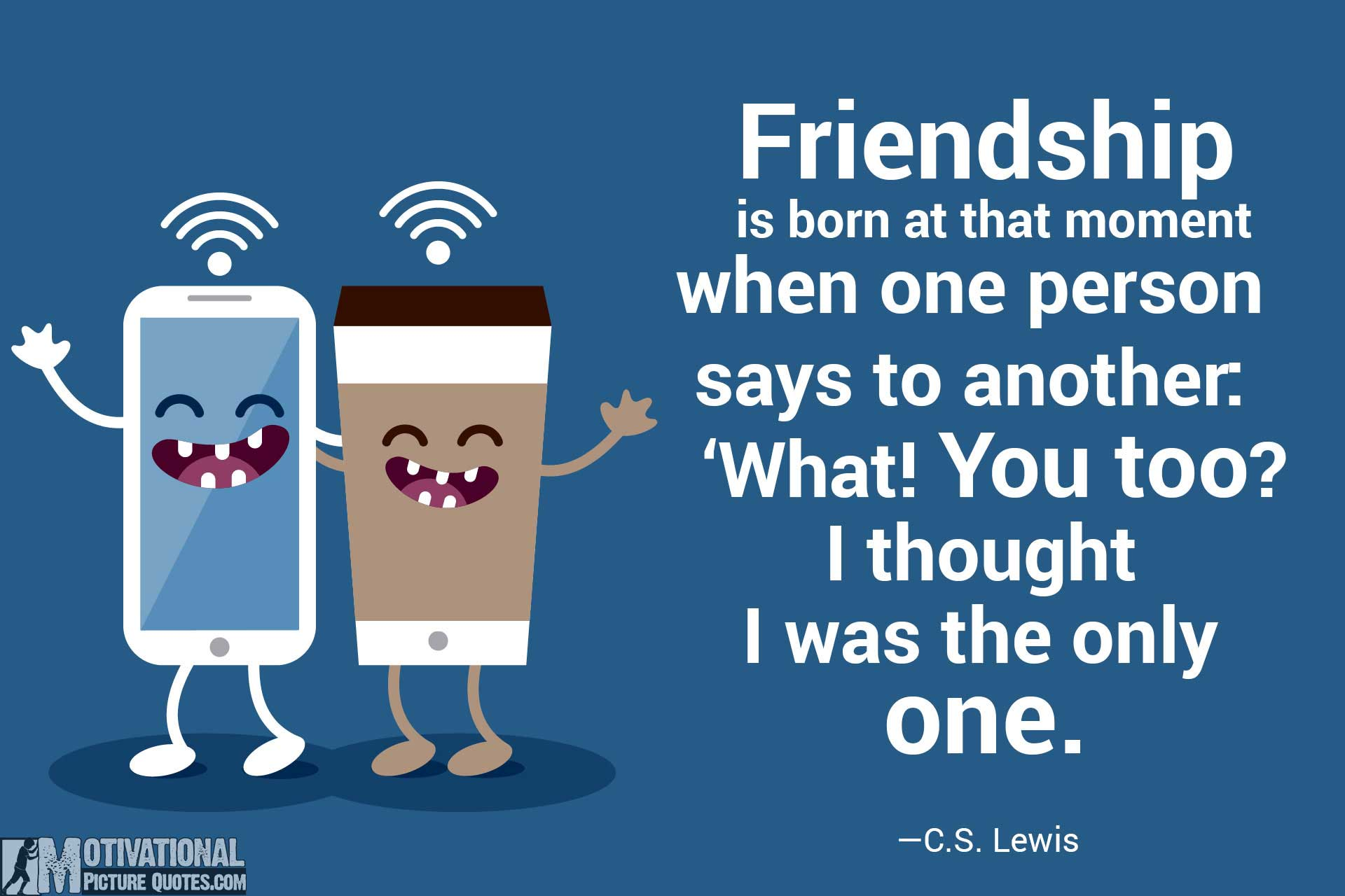 Cute Short Quotes About Friendship 25 Inspirational Friendship Quotes Images  Free Download