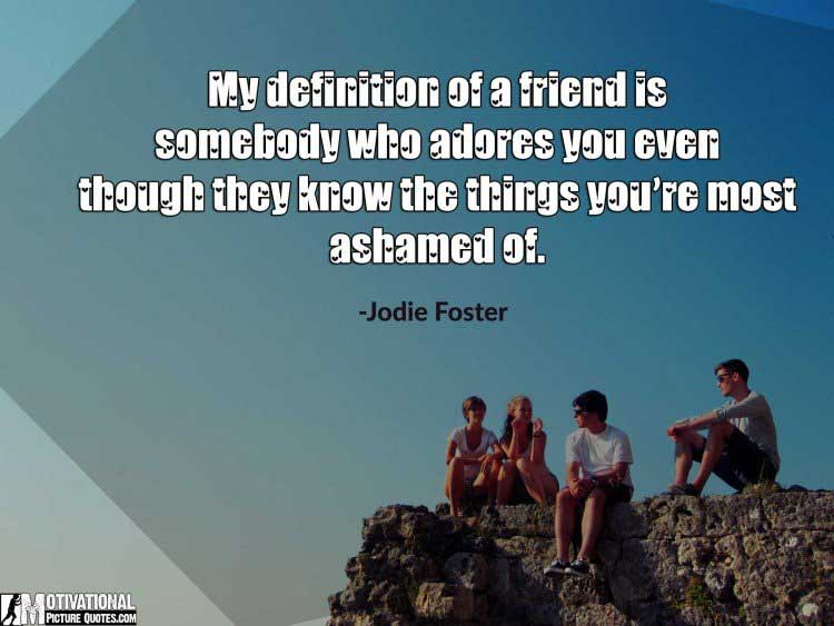 definition of a friend