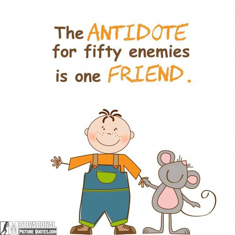 famous friendship quotes images