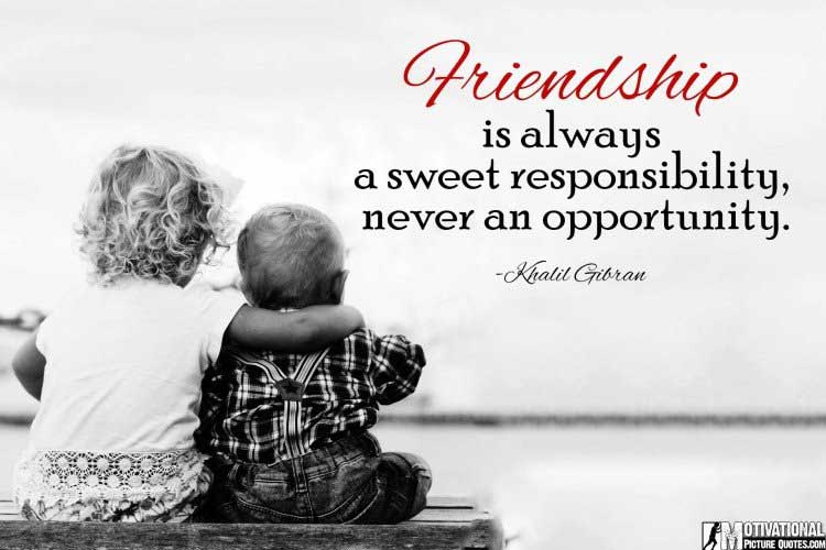 friendship images with quotes