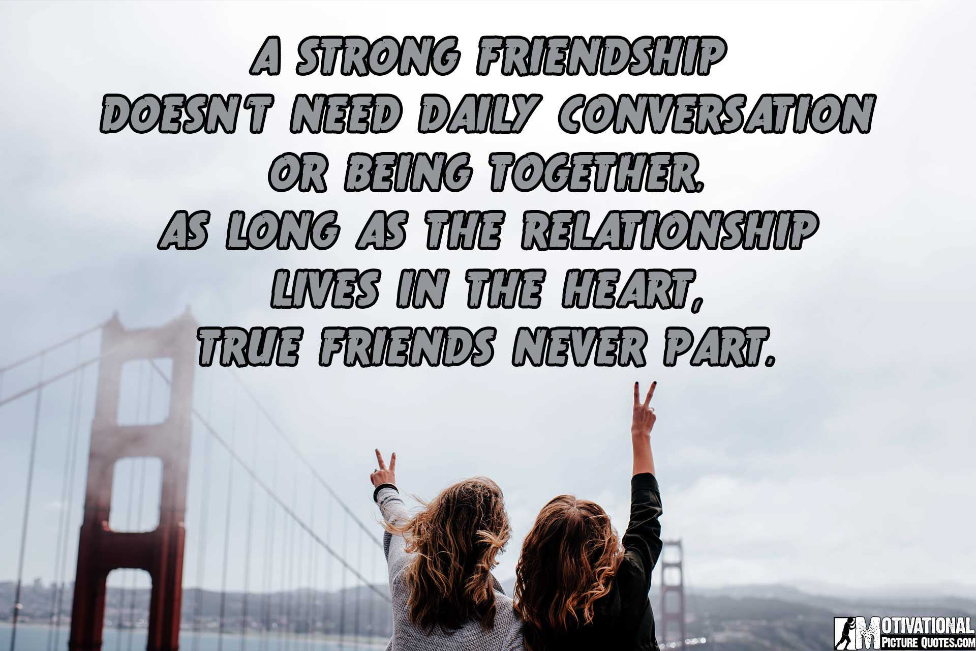 Photo Quotes About Friendship Mesmerizing 25 Inspirational Friendship Quotes Images  Free Download