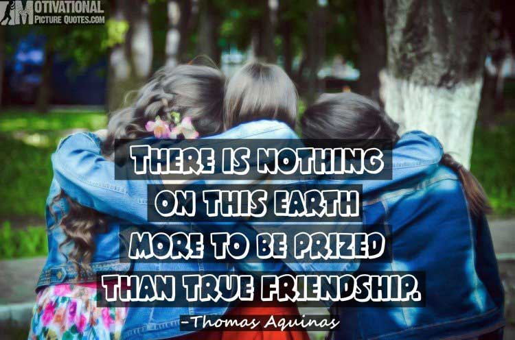 true friendship quotes with image
