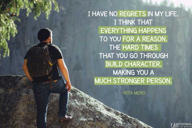 good quotes about being strong by Rita Mero