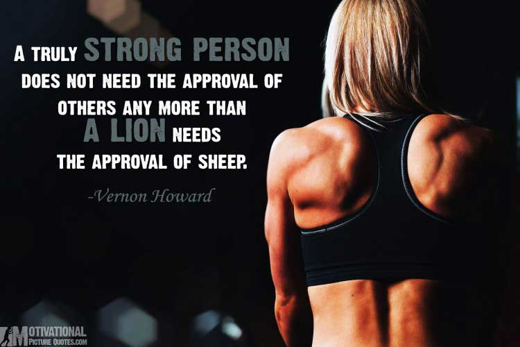 quotes about being strong by Vernon Howard