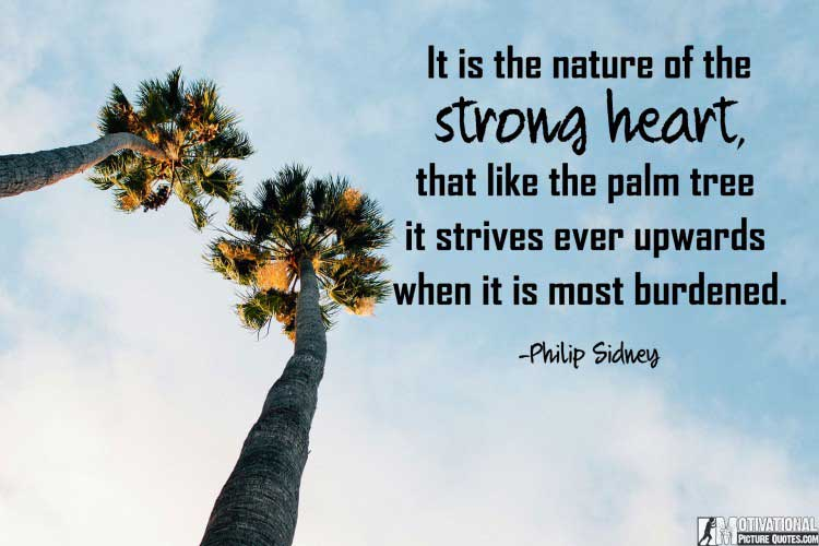 short quotes about being strong by Philip Sidney