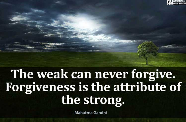 staying strong quotes by Mahatma Gandhi