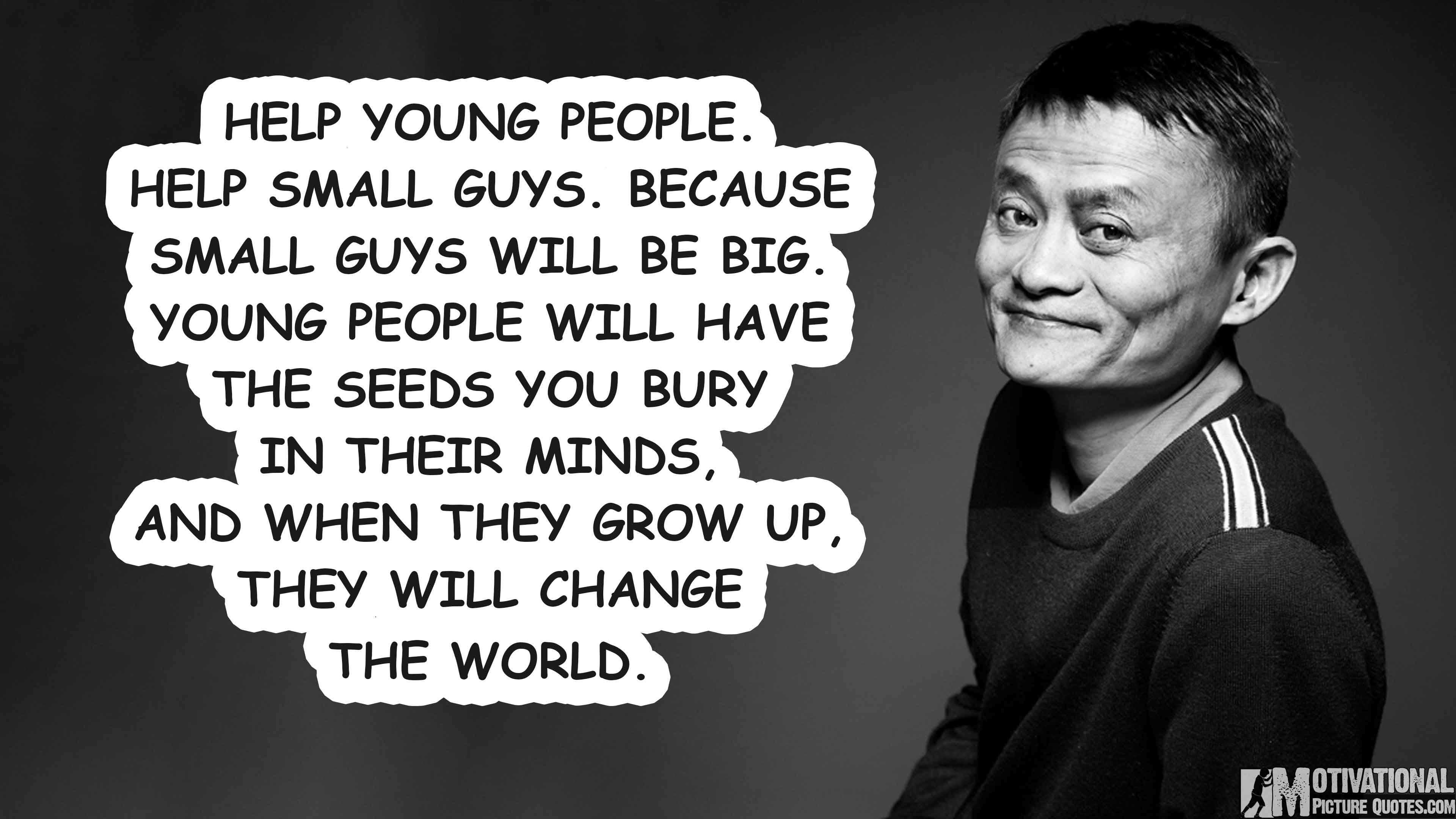 Inspirational Quotes For Young Adults Alibaba Founder Jack Ma Quotes For Entrepreneurs  Insbright