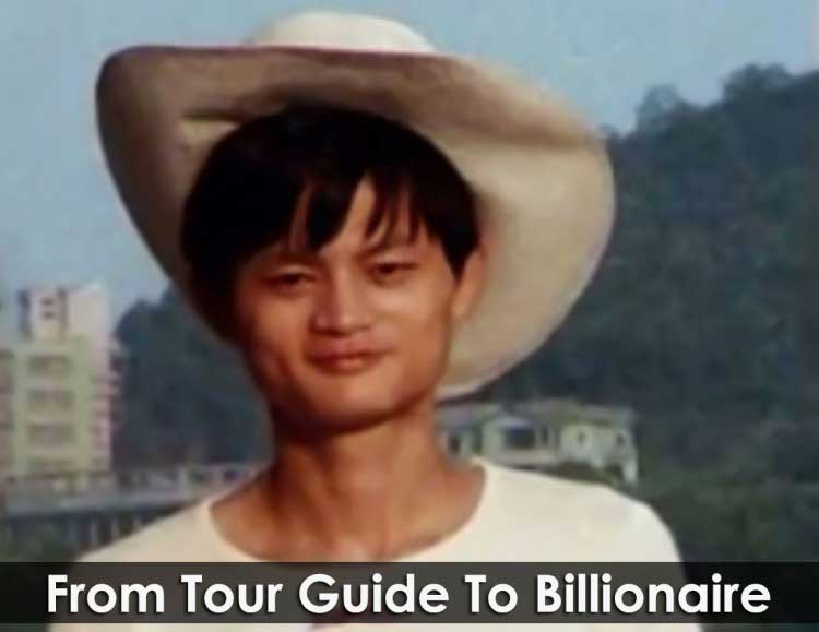 jack ma as tour guide