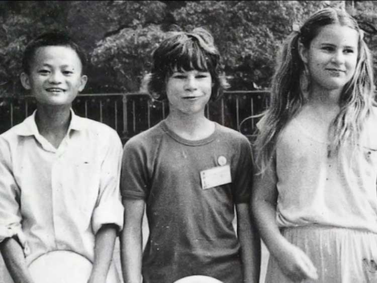 jack ma childhood picture