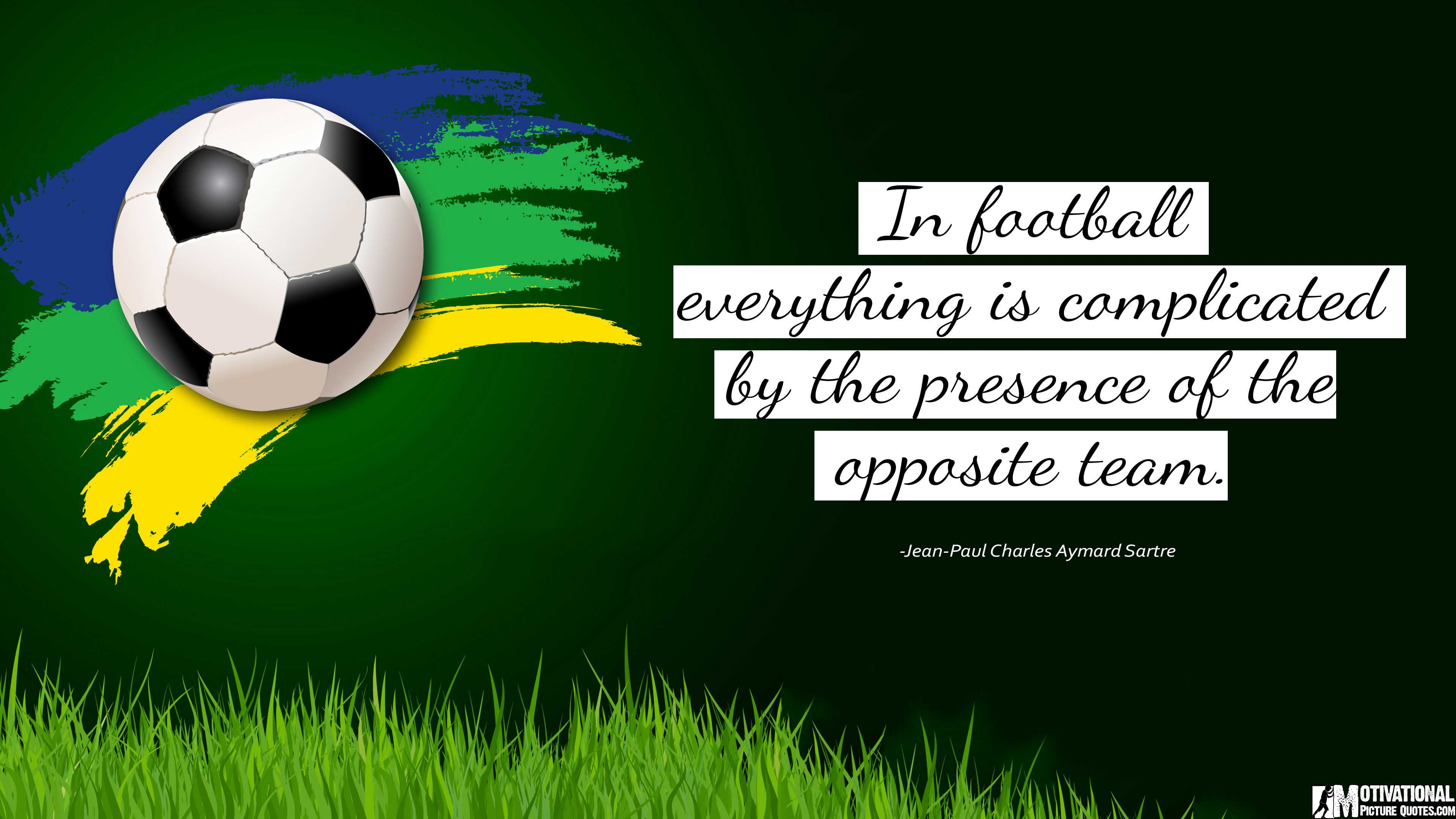 Famous soccer quotes inspirational