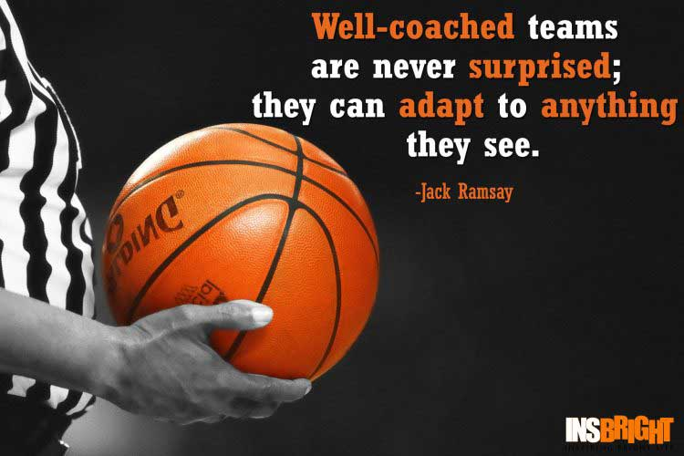 Basketball Quotes For Coaches by Jack Ramsay