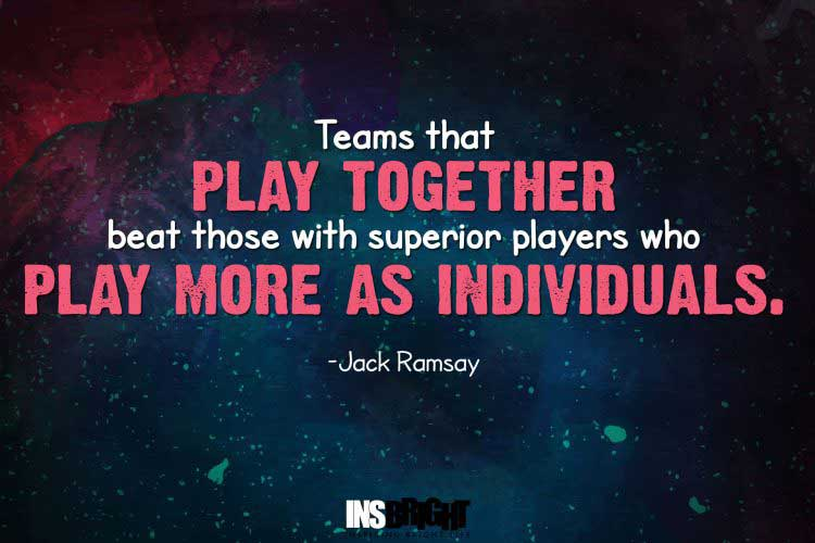 basketball quotes short by Jack Ramsay