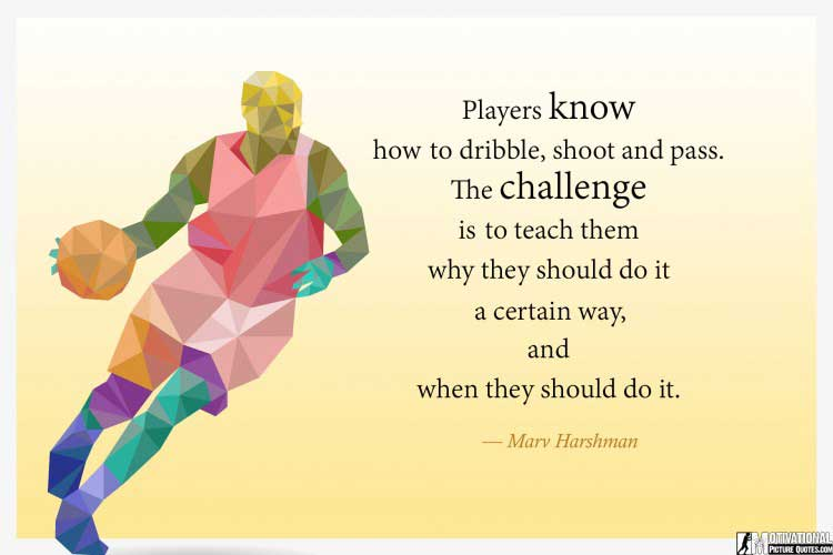 hd basketball motivation pictures by Marv Harshman