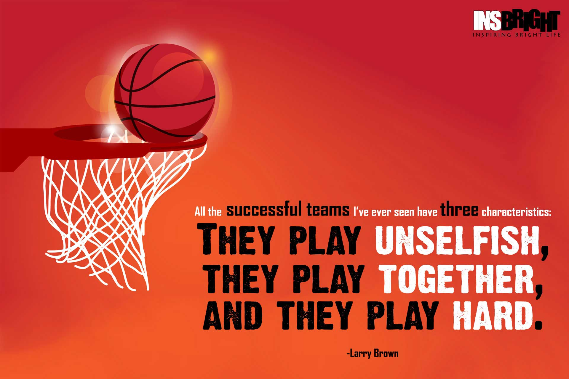 Quotes For Basketball Classy 50 Inspirational Basketball Quotes With Pictures  Insbright