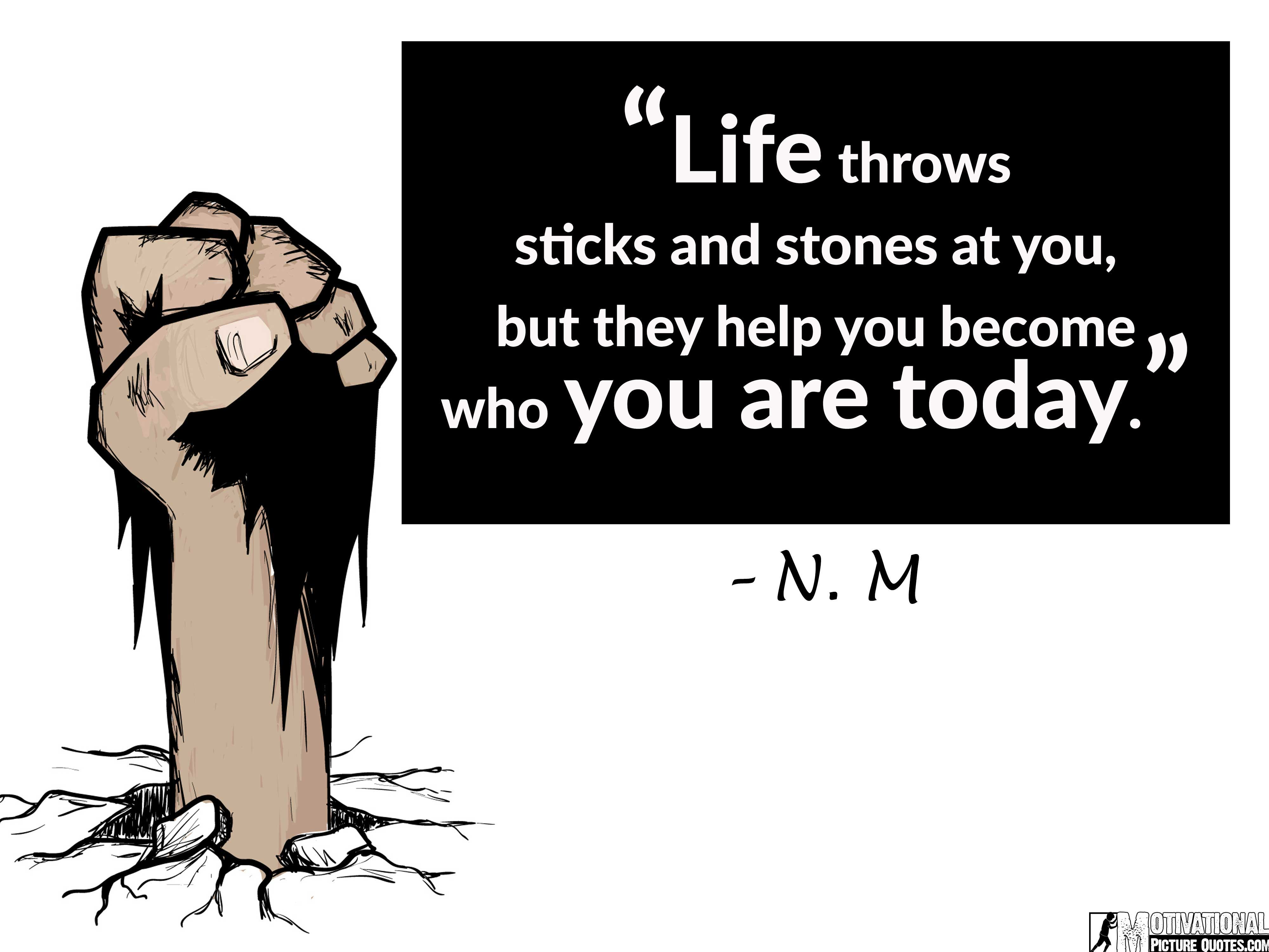 Life Quotes For Teens By N. M