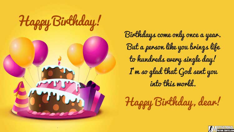 best happy birthday quotes for him