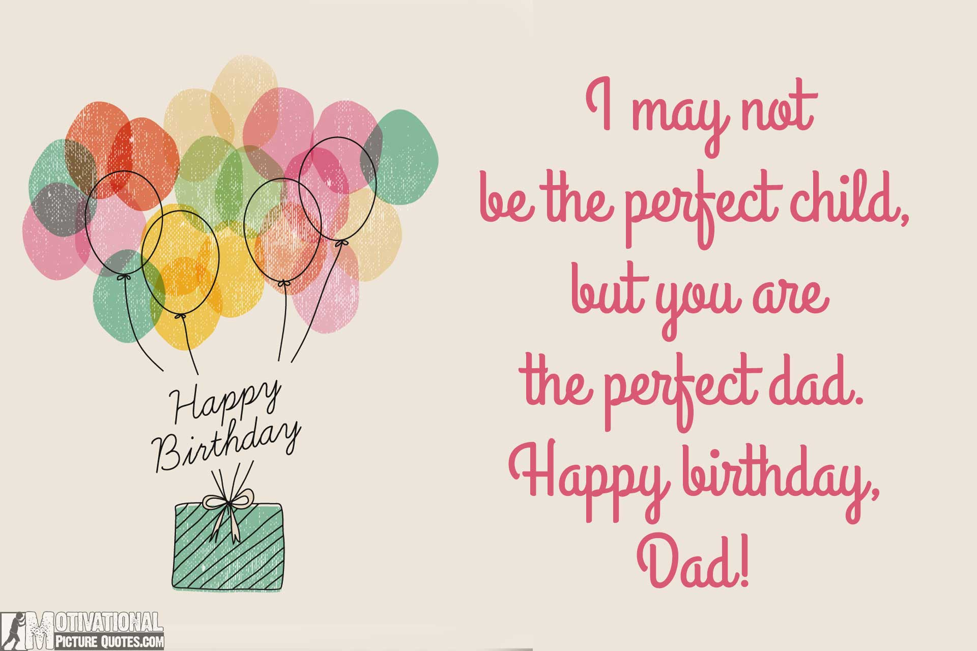 35 Inspirational Birthday Quotes Images – Birthday Card Messages for Dad