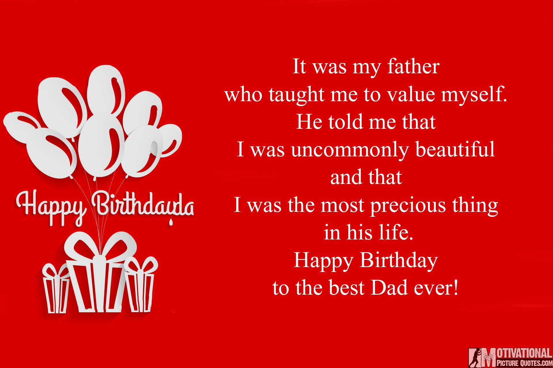 dad birthday quotes from kids - photo #19