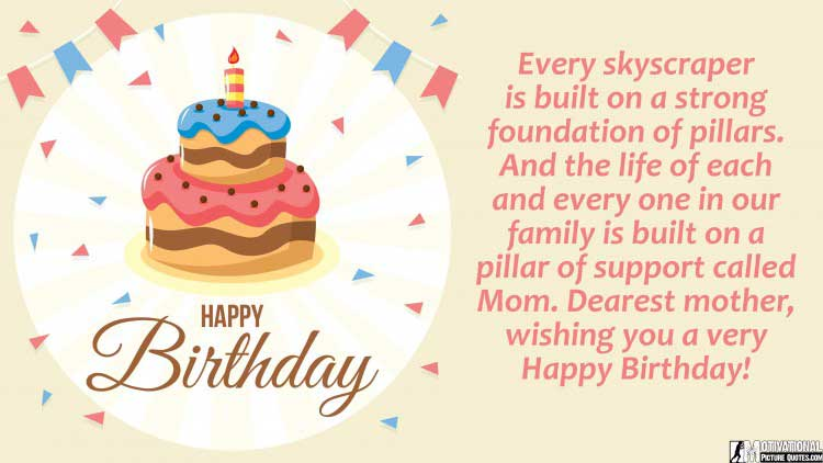 cute birthday quotes for mom