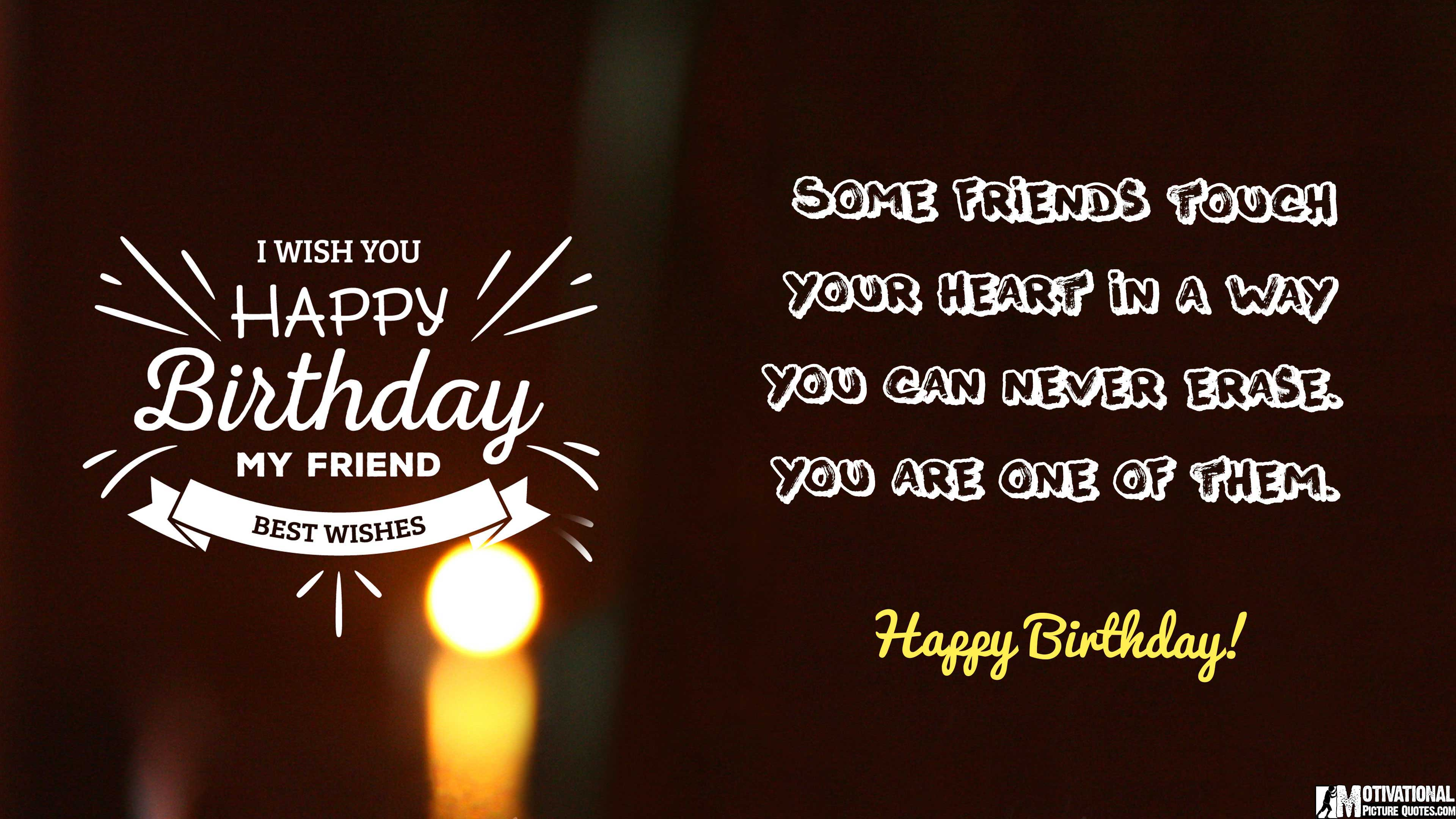 35 Inspirational Birthday Quotes Images – Birthday Greetings for a Friend Quotes