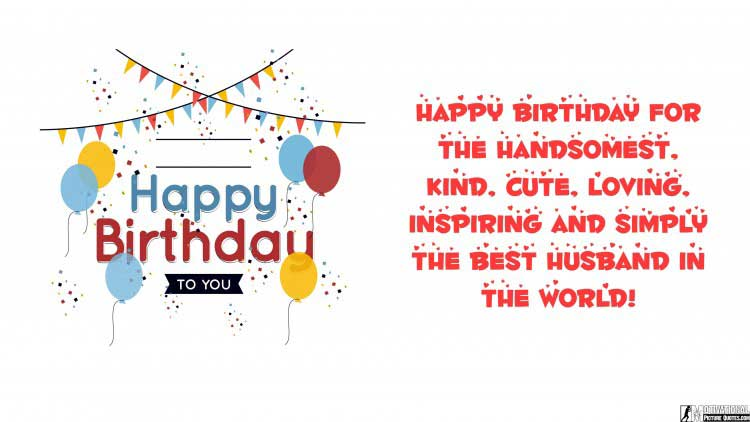 cute happy birthday quotes for him