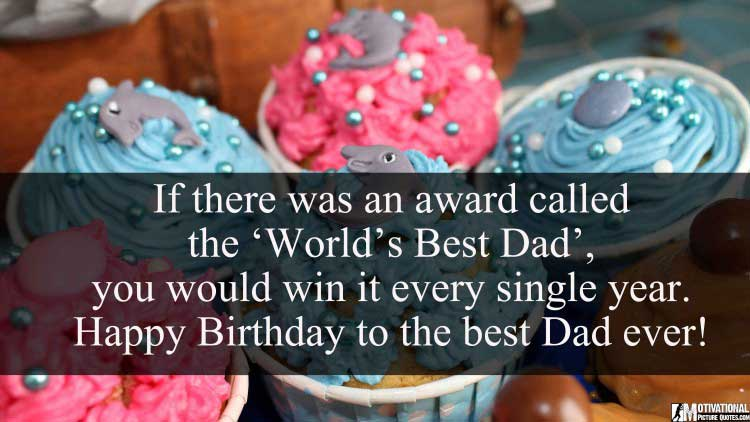 cutest birthday wishes for dad