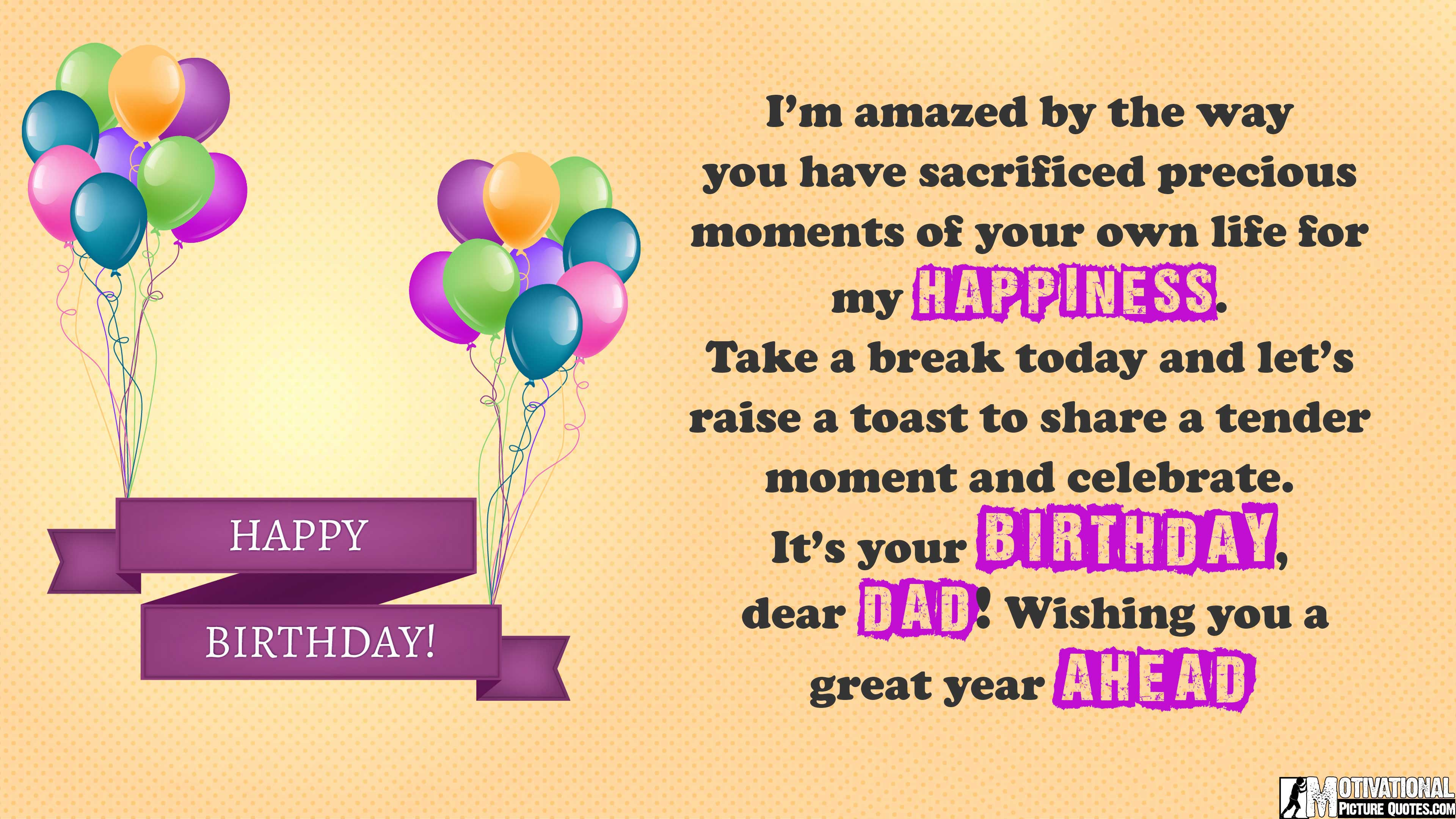35 inspirational birthday quotes images insbright happy birthday quotes dad kristyandbryce Image collections