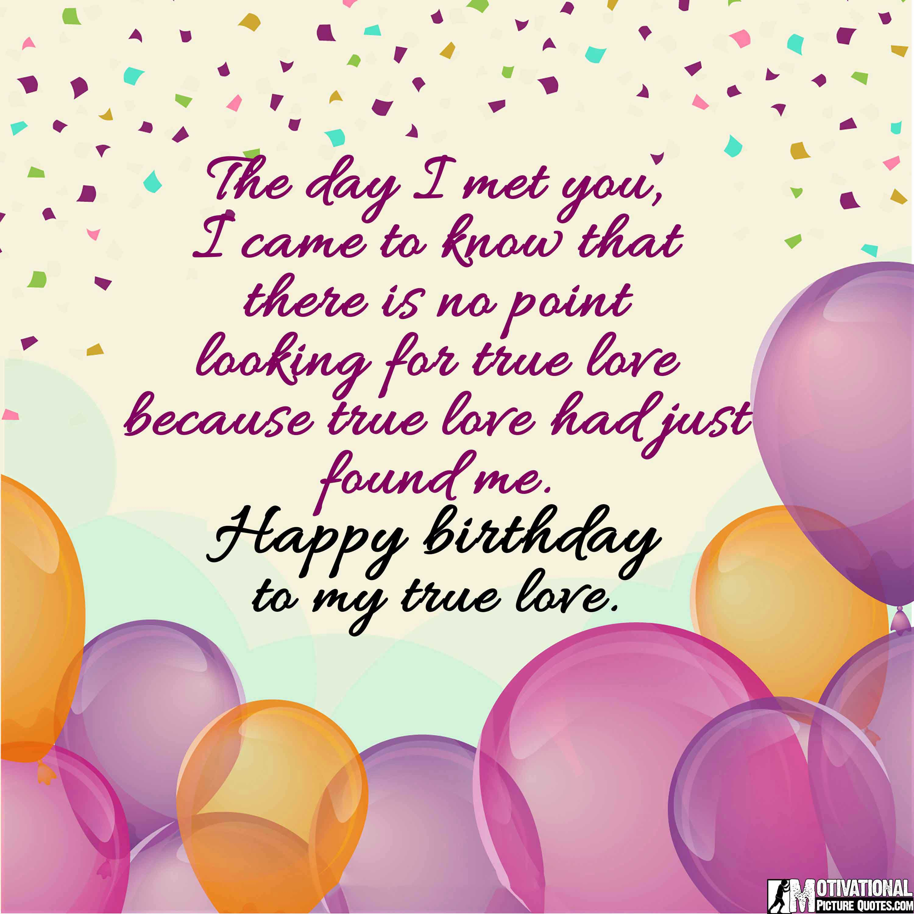 Happy Love Quotes For Her: 35+ Inspirational Birthday Quotes Images