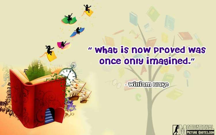 William Blake quotes about imagination