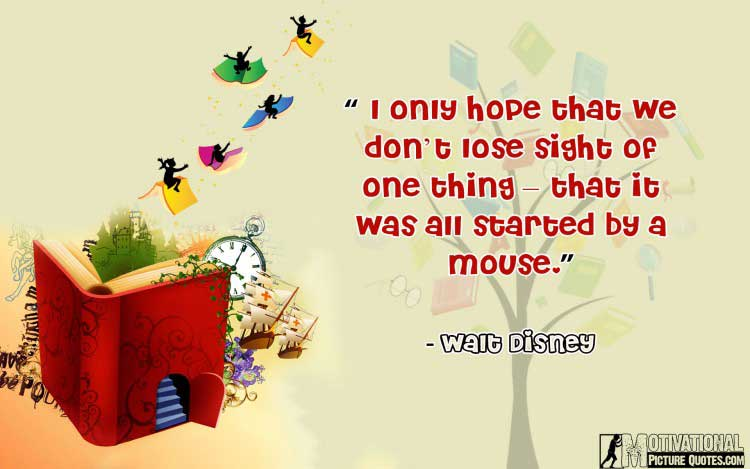 Walt Disney quotes about imagination