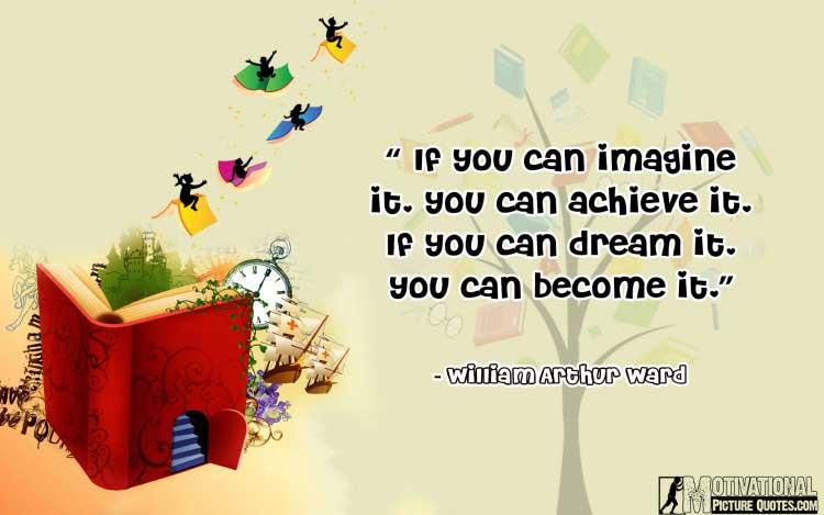 William Arthur Ward quotes about imagination