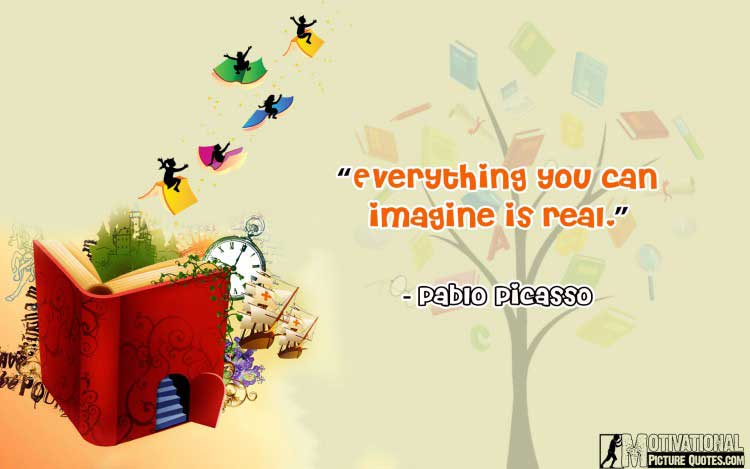 Pablo Picasso quotes about imagination