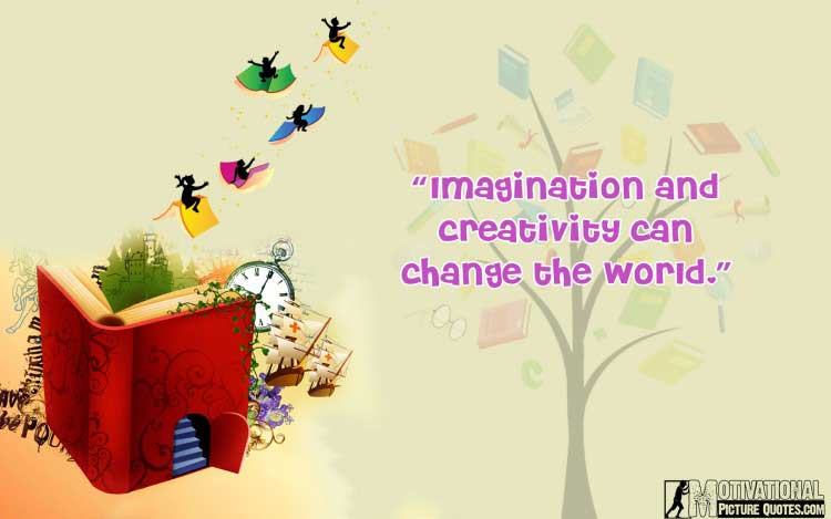 motivational quotes about imagination