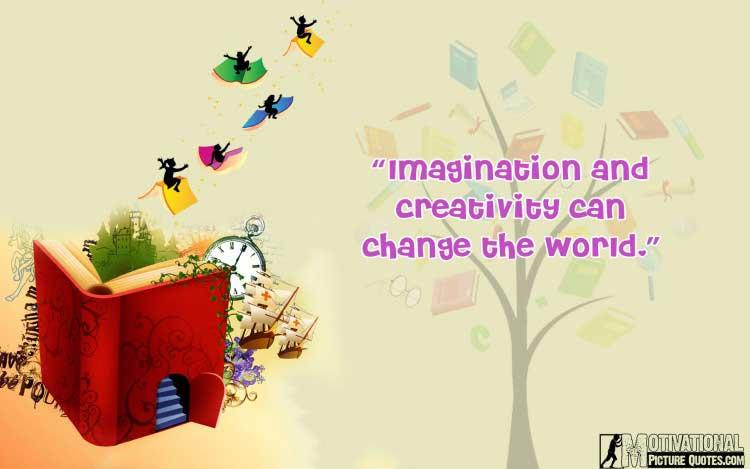 motivational quotes about imagination