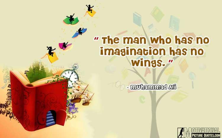 Muhammad Ali quote on imagination